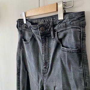 American Eagle Super Stretch Ripped Jeans
